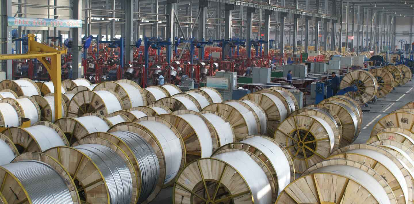 the producing plant of acsr wire-huadong