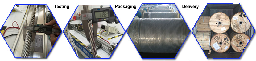 cabling and testing of zebra conductor